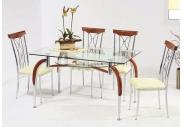Стеклянные столы современном интерьере